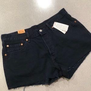 Levi's 501 Original Fit Button Fly Cut-off shorts